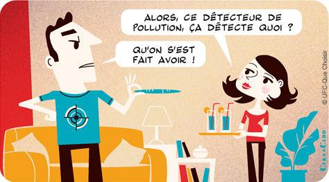 pollution de l'air logement